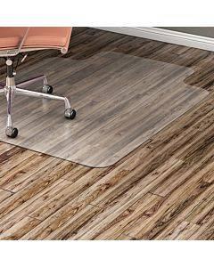Lorell Nonstudded Hard Floor Wide Lip Chairmat