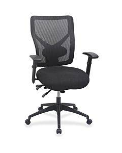 Lorell Multi-task Control Mesh Back Chair