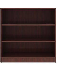 Lorell Mahogany Laminate Bookcase