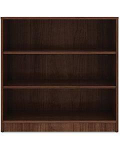 Lorell Walnut Laminate Bookcase