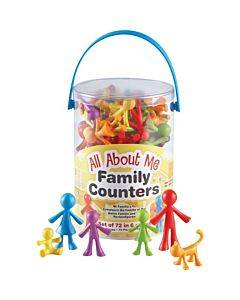 Learning Resources All About Me Family Counters Set
