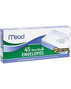 Mead Press-it Seal-it No. 10 Security Envelopes