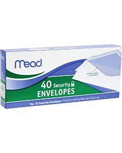 Mead No. 10 Security Envelopes