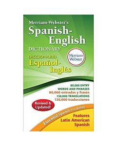 Merriam-webster Spanish-english Dictionary Printed Book