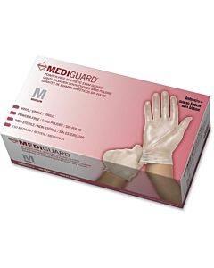 Medline Mediguard Vinyl Non-sterile Exam Gloves