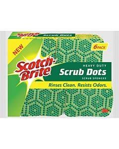 Scotch-brite Scrub Dots Heavy-duty Scrub Sponge