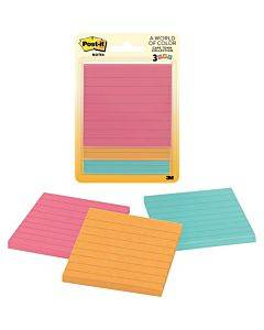 Post-it® Notes Original Notepads - Cape Town Color Collection