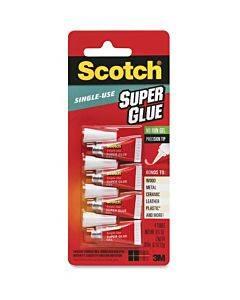 Scotch Super Glue Gel - 0.05 Grams Single-use Tubes