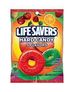 Wrigley Lifesavers 5 Flavors Hard Candies