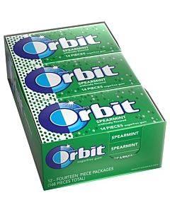 Orbit Spearmint Sugar-free Gum - 12 Packs