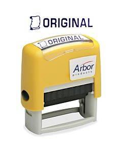 "Skilcraft Pre-inked ""original"" Message Stamp"