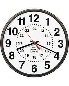 Skilcraft 12/24 Hour Wall Clock