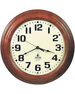 Skilcraft Hardwood Wall Clock