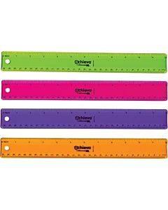 "Oic 12"" Flexible Plastic Ruler"