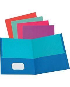 Oxford Twisted Twin Pocket Folder