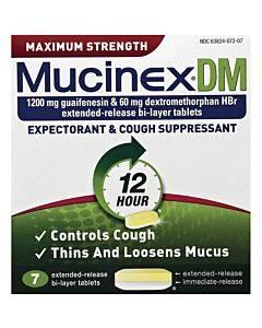 Mucinex Dm Cough Tablets