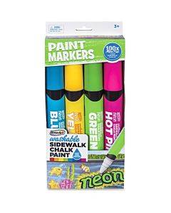 Roseart Washable Sidewalk Chalk Paint Markers