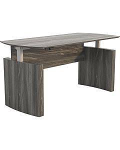Safco Safco Medina Curved-end Height-adjustable Desk Base