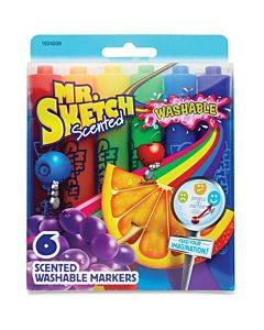Mr. Sketch 6-count Scented Markers
