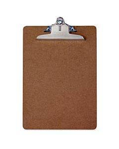 Saunders Brown Hardboard Clipboards