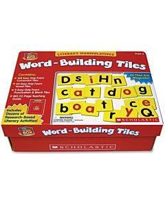 Scholastic Res. Pre K-2 Word-building Tiles Tool Box