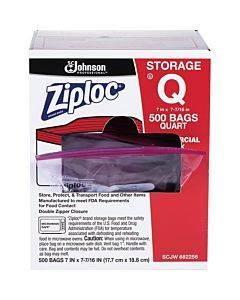 Ziploc® Seal Top Quart Storage Bags