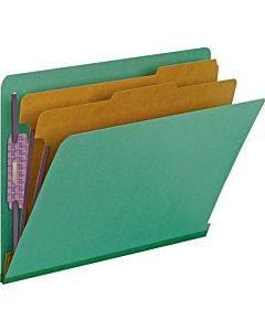 Smead End Tab 2-div Classification Folders