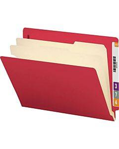 Smead End Tab Classification File Folders With Reinforced Tab