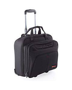 """Swiss Mobility Carrying Case (roller) For 15.6"""" Notebook - Black"""