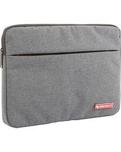 """Swiss Mobility Carrying Case (sleeve) For 13.3"""" Notebook, Tablet - Gray"""