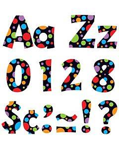 Trend Ready Letter Neon Dots
