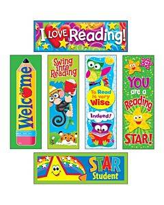 Trend Reading Fun Bookmark Combo Pack