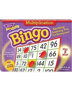Trend Multiplication Bingo Learning Game