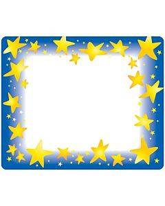 Trend Star Bright Self-adhesive Name Tags