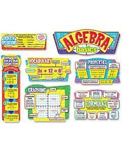 Trend Algebra Basics Bulletin Board Set