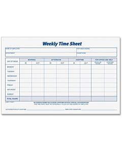 Tops Weekly Timesheet Form