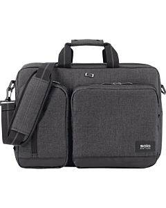 """Solo Urban Carrying Case (briefcase) For 15.6"""" Notebook - Gray, Black"""