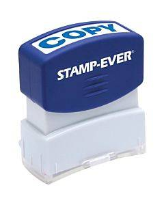 Stamp-ever Pre-inked Blue Copy Stamp