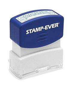 Stamp-ever Scanned Pre-inked Stamp