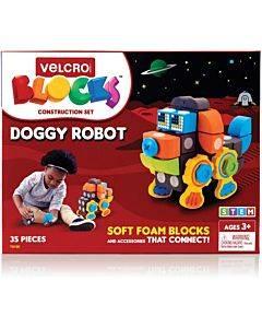 Velcro® Soft Blocks Doggy Robot Set
