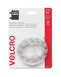 Velcro® Brand Sticky Back Circles, 5/8in Circles, White, 100ct