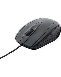 Verbatim Corded Notebook Optical Mouse - Black