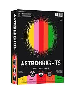 """Astrobrights Color Paper - """"vintage"""" 5-color Assortment"""