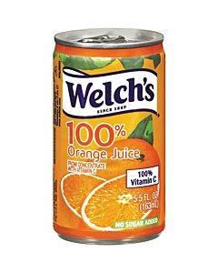 Welch's 100% Orange Juice Cans