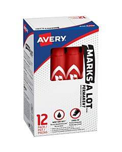Avery® Marks-a-lot Desk-style Permanent Markers