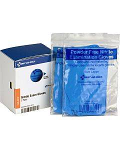 First Aid Only Smartcompliance Refill Nitrile Gloves