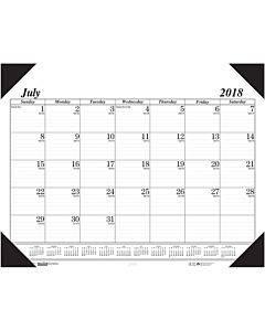 House Of Doolittle 14-month Academic Economy Desk Pad
