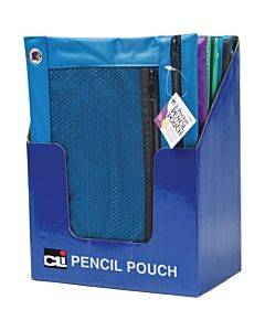 Cli Carrying Case (pouch) Pencil, Ring Binder - Assorted