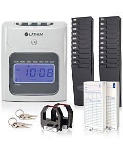 Lathem 400e Top Feed Electronic Time Clock Kit