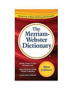 Merriam-webster Dictionary Printed Book
